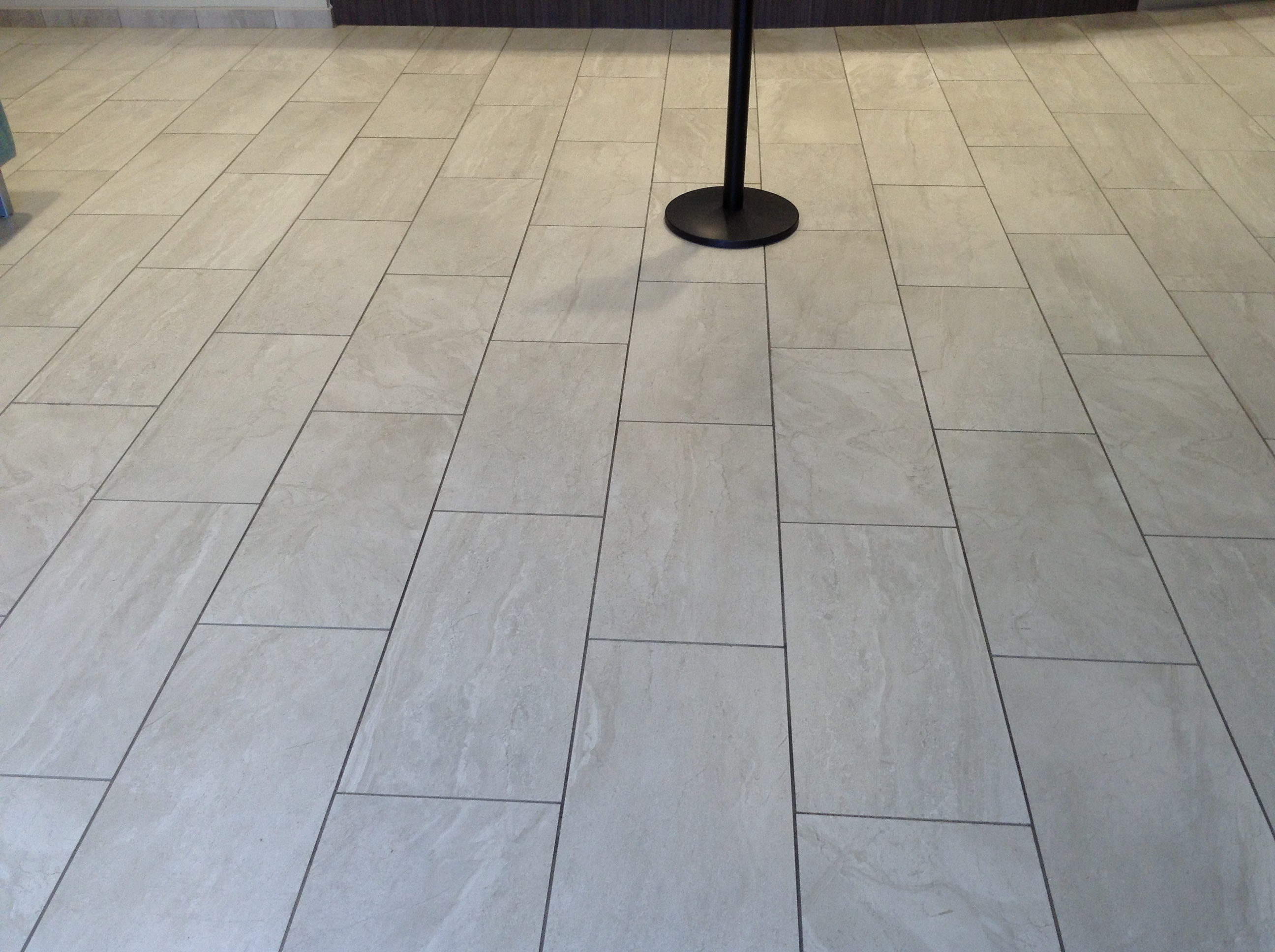 Commercial tile installations commercial flooring third offset pattern dailygadgetfo Image collections