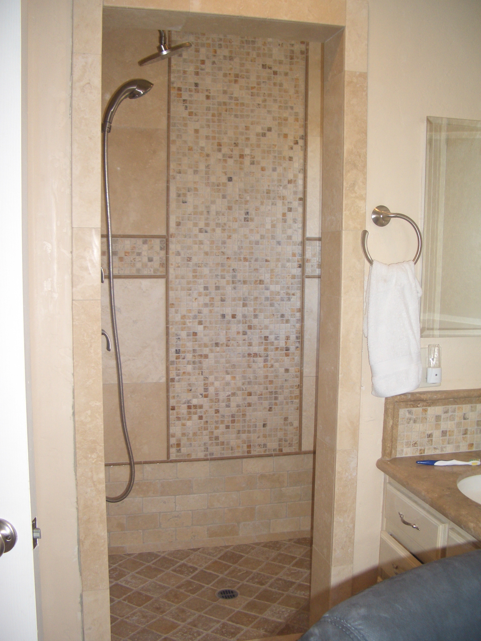 Precise flooring and showers professional installation of tile schroeder job 042 dailygadgetfo Gallery